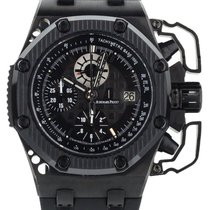 Audemars Piguet Ceramic Automatic Black 42mm pre-owned Royal Oak Offshore Chronograph