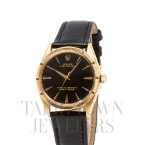 Rolex Oyster Perpetual 34 Yellow gold 34mm Black United States of America, New York, Hartsdale