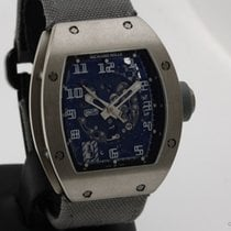 Richard Mille RM 010 White gold 40mm Transparent Arabic numerals