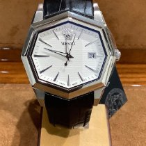 Versace Steel 40mm Quartz 13Q99, VERSACE, V-ATELIER new