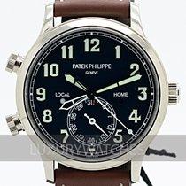 Patek Philippe Travel Time White gold 42mm Black