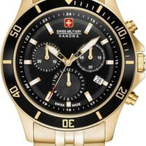 Swiss Military Hanowa Flagship Acero 42mm Negro
