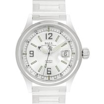 Ball Fireman Racer Acero 40mm Blanco