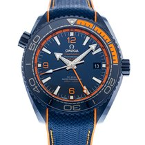 Omega Seamaster Planet Ocean 215.92.46.22.03.001 2010 pre-owned