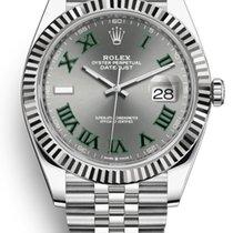 Rolex Datejust Zeljezo 41mm Siv Bez brojeva