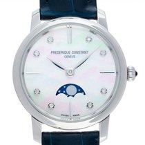 Frederique Constant Slimline Moonphase FC-206MPWD1S6 new
