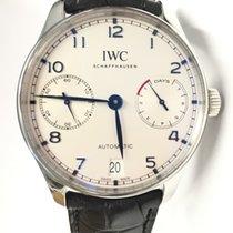 IWC Portuguese Automatic Steel 42,3mm White Arabic numerals