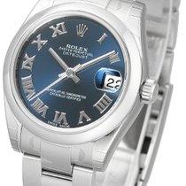 Rolex Datejust 31 blue roman