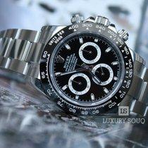 Rolex 2016  DAYTONA COSMOGRAPH BLACK CERAMIC  BLACK BEZEL