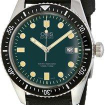 Oris Divers Sixty Five Steel Green United States of America, New York, Brooklyn