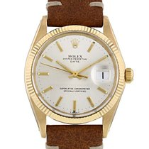 Rolex Oyster Perpetual Date en or jaune Ref : 1500 Vers 1971