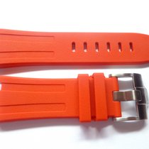 Compatible Red Rubber strap for AP - 28mm Audemars Piguet Oak...