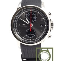 IWC Portuguese Yacht Club Chronograph Staal 43.5mm Grijs Arabisch