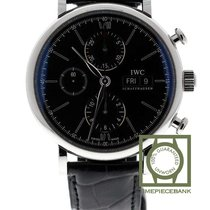 IWC Portofino Chronograph Acier 42mm Noir