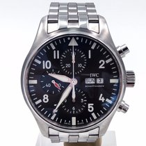 IWC Pilot Spitfire Chronograph On Bracelet 43mm Complete Set...