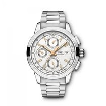 IWC Ingenieur Chronograph  Silver Dial Automatic IW380801 Mens...