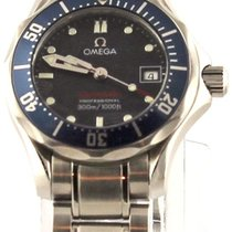 Omega Seamaster Professional 2224.80 Swiss Quartz Ladies Blue...