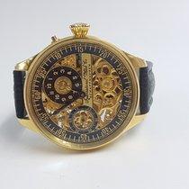 IWC Skeleton Regulator Wristwatch circa 1890-1910