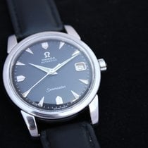 Omega Seamaster automatic with date black dial.