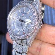 Rolex Sky-Dweller CUSTOM Diamond (VERY FLASHY)