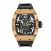 Richard Mille RM 030 Titanium 50mm Doorzichtig Arabisch