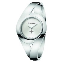 ck Calvin Klein Steel 25mm Quartz K8E2M116 new