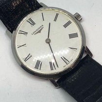 Longines Classic Vintage Manual Wind Swiss Made SS Pre-Owned...