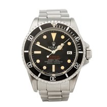 Rolex 40mm Automatic 1978 pre-owned Sea-Dweller (Submodel) Black
