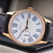 Zenith Elite Heritage Ultra Thin Lady Small Second Rose Gold...
