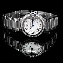 Cartier Ballon Bleu 28mm new Quartz Watch with original box and original papers W4BB0015