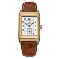 Jaeger-LeCoultre Reverso (submodel) Yellow gold 26mm Silver Arabic numerals