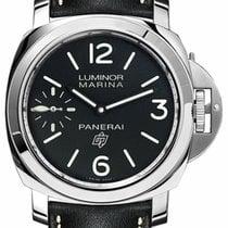 Panerai Luminor Marina Steel 44mm Black Arabic numerals United States of America, New York, New York
