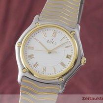 Ebel Classic Gold/Stahl 35.5mm Weiß Deutschland, Chemnitz