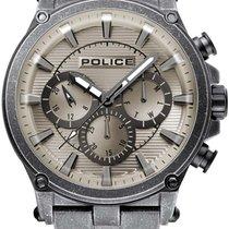 Police Çelik 47mm Quartz PL15920JSQU.20M yeni