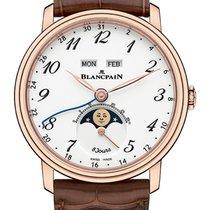 Blancpain Villeret Quantième Complet Rose gold 42mm White Arabic numerals