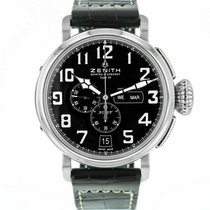 Zenith pre-owned Automatic 48mm Black Sapphire Glass 10 ATM
