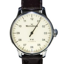 Meistersinger Steel 42mm Automatic AM901 pre-owned