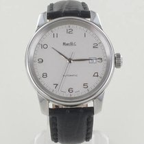 Marcello C. Steel 40,4mm Automatic Automatik new