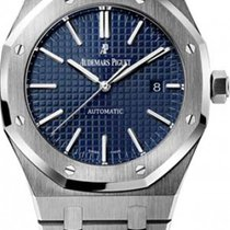 Audemars Piguet Royal Oak Selfwinding Steel 41mm Blue No numerals
