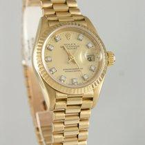 Rolex Lady-Datejust Gelbgold 26mm Champagnerfarben Deutschland, Heilbronn