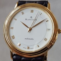 Blancpain Villeret Ultra-Slim Yellow gold 34mm White Roman numerals