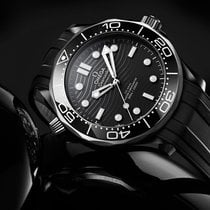 Omega Seamaster Diver 300 M Ceramic 43.5mm Black No numerals United States of America, Georgia, Alpharetta