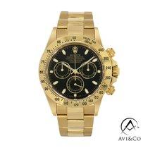 Rolex Daytona Yellow gold 40mm Black No numerals United States of America, New York, New York