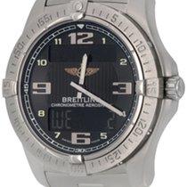 Breitling Aerospace Avantage Titan 42mm Schwarz Arabisch