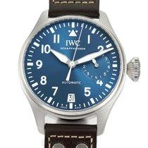 IWC Big Pilot Steel 46mm Blue Arabic numerals United States of America, New York, New York