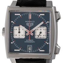 TAG Heuer Monaco Calibre 11 Steel 39mm Blue United States of America, Texas, Austin