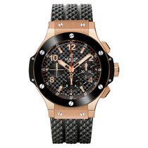 Hublot Rose gold Automatic Black Arabic numerals 44mm new Big Bang 44 mm