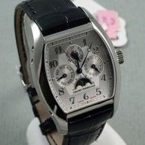 Girard Perregaux Richeville Steel 50mm Silver Arabic numerals United States of America, Huntington Beach