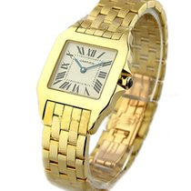 Cartier W25062X9 Santos Demoiselle in Yellow Gold - Large Size...