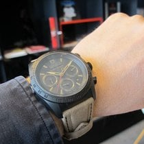 Tudor Fastrider Black Shield 42000CN-0016  TUDOR BlackShield Crono Alcantara Indici Oro new